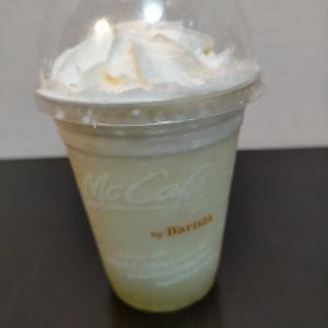 夜にMcCafe by Baristaに行く!!