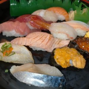 敬老の日はお寿司にしました!!
