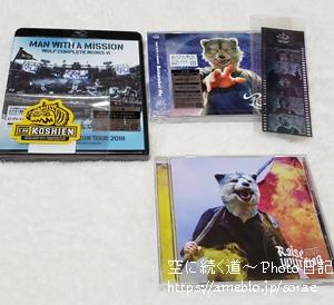 MAN WITH A MISSIONのCDまとめ買い3