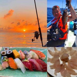 #海釣り #奥様ありがとう #海の幸 #アイナメの刺身