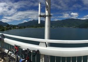 「河口湖サイクリング」と「トライアルの大会」♪♪