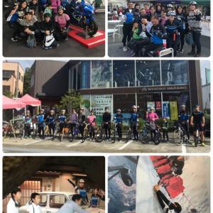 女子サイクリング と ヨツバサイクル走行会 ♪♪