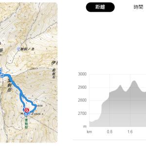【百名山登山】木曽駒ヶ岳