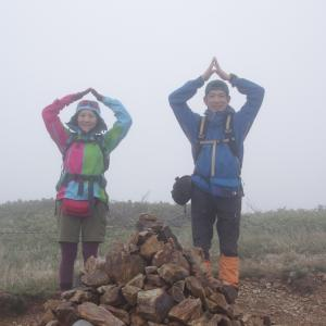 【百名山登山】速報:巻機山に行ってきました。でも雨。。。