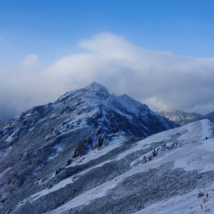 初冬の燕岳(その2)