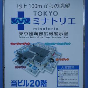 「G空間EXPO 2019」へ行き、「TOKYOミナトリエ」で夕暮れ時の富士山を楽しむ