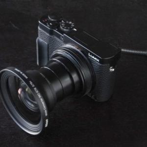 LUMIX DMC-TX1(Panasonic)とWC-E76(Nikon)の組合せ
