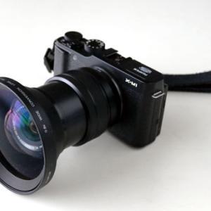 XC15-45mmF3.5-5.6 OIS PZ とWL-FXS6(FUJIFILM)の組合せ