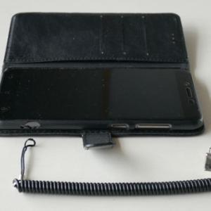 ZenFone 3 Max(ZC553KL)の手帳型ケースの破損