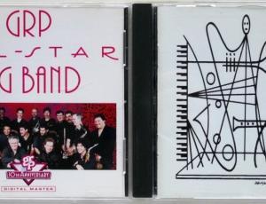 """GRP All Star Big Band"", ""Dave Grusin Presents GRP ALL-STAR BIG BAND LIVE!"""
