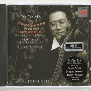 """Yo-Yo Ma - Concertos from the New World"""
