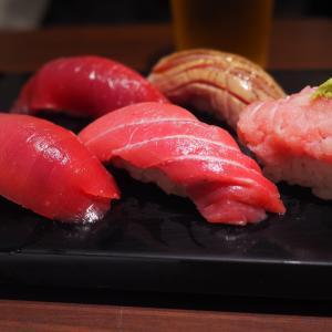 立ち食いでリーズナブルに寿司を楽しむ  立喰い寿司 ひなと丸@銀座