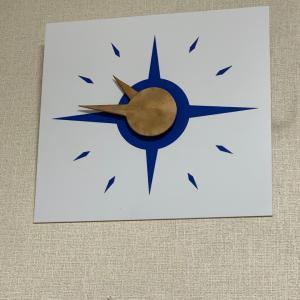 ウルトラ警備隊メイン作戦室の時計