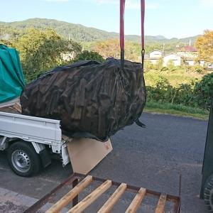 薪の積込を楽にする方法