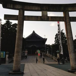 豊川稲荷に初詣に行ったよ。