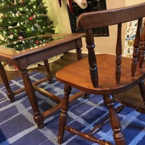 中古の家具を、お安く買いました