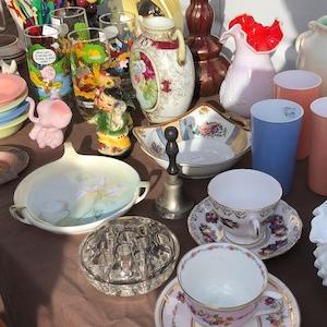 おばあちゃんミッションその2。Long Beach Antique Market