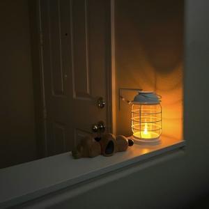 停電も悪くないな!また停電しないかな。