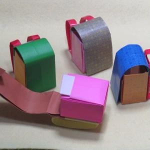 折り紙の3枚ランドセルの折り方作り方 創作