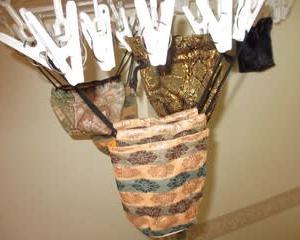 駒袋の洗濯