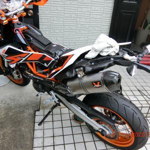 690SMCR、プチメンテ → 切断!
