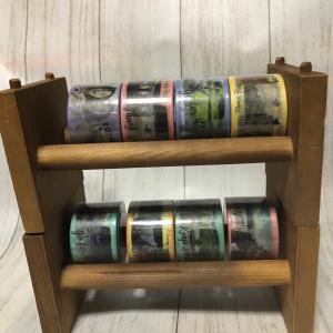 セリア 木製マスキングテープ収納