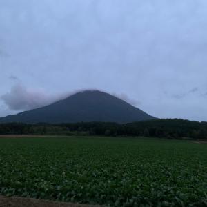 今日の羊蹄山&今日もやっぱり京極温泉行って来たよ!夕焼けマジでキレイだった!温泉安過ぎな件