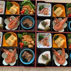 今日の羊蹄山&お客様への差入れ弁当㊾松花堂弁当♡ 今日は午後から札幌入りします~。うふ♡
