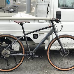 MTBのようなクロスバイク