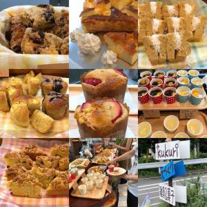 kukuriでのブレス作り体験のお楽しみ、フルーツケーキと夏ゼリー10種類を一挙ご紹介(七夕開催から)