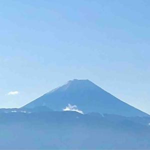 いつもの秋。富士山、食卓にも。