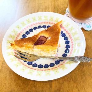 kukuri特製いちごベイクドチーズケーキを食べに。ブレス作り体験コラボの話も。