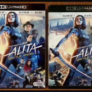 『アリータ:バトル・エンジェル 4K ULTRA HD』購入!