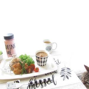 今日の料理とお猫様