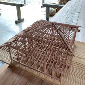建築模型 石場建て