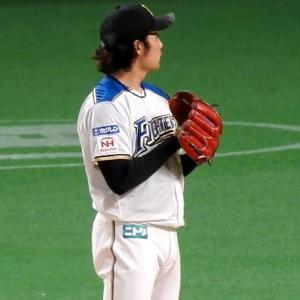 伊藤大海投手、本拠地札幌ドームで初勝利
