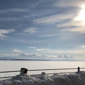 北海道らしい網走湖