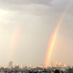 大きな虹、ダブルレインボー