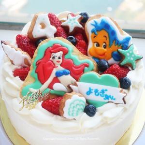 リトルマーメイド*アリエルのケーキ