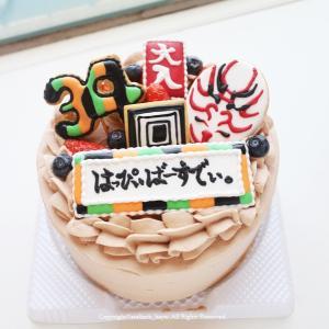 歌舞伎ケーキ