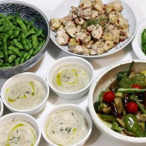 季節野菜を食べる