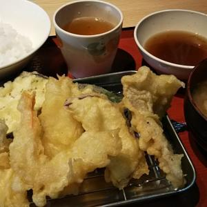 揚げたて天ぷら@春日浦食堂