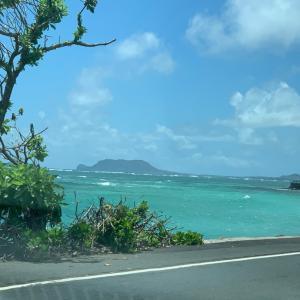 まだ活気のないハワイ
