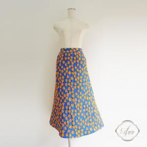 新作♪元気カラーなジャガードスカート