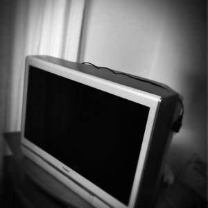 ブラウン管テレビと生活