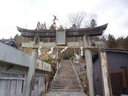 真庭市 大津神社