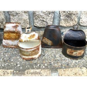 蓋付きリメ缶とバック型リメ缶の木の実飾りレッスン