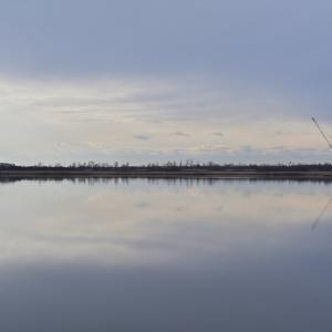 鏡面ウトナイ湖