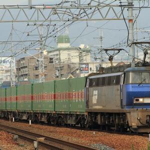 EF200とシキ800をまとめて展示~京都鉄道博物館