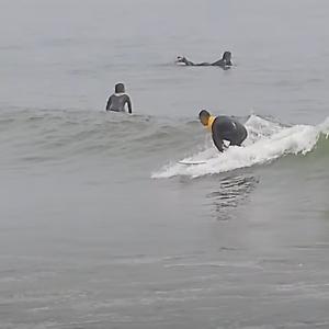 冬のサーフィンで上達する方法